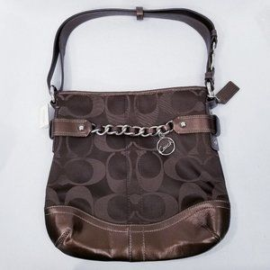 Coach Signature Chain Duffle Handbag #F19730 - NWT